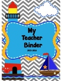 Nautical Leadership Binder Cover
