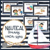 Nautical Learning Center Signs