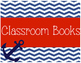 Nautical Library and Classroom Books Signs