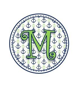 Nautical Math Banner