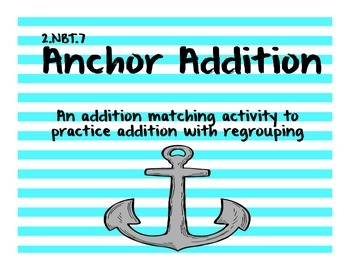 Nautical 2nd Grade Math Centers