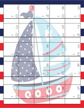Nautical Math Pack (K-2)