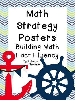 Nautical Math Strategy posters