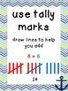 Nautical Math Strategy posters