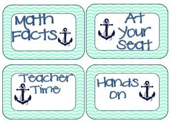 Nautical Math Workshop