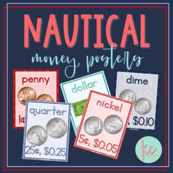Nautical Money Posters
