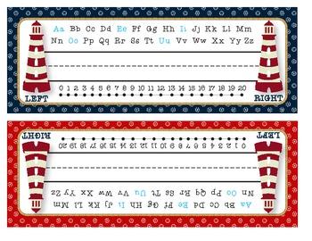 Nautical Name Plates