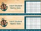Nautical Name Tags EDITABLE - 6 Different Styles