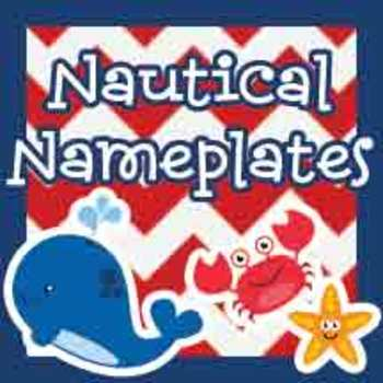 Nautical Nameplates