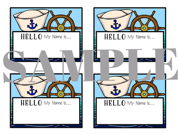 Nautical Nametags