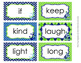 Nautical Navy and Lime Dolch 3rd Grade Sight Wall Words