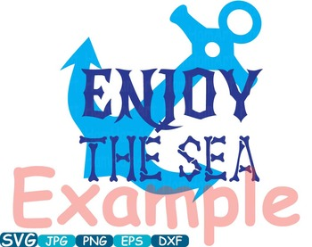 Nautical Navy clip art school reward Logo monogram sport Ocean Sea Anchor -264s