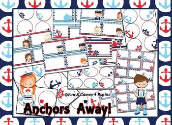Nautical (Ocean) Themed Labels & Tags Bundle
