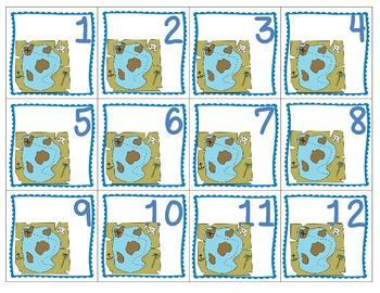 Nautical Patterning Calendar Cards & Headers (4 Sets!)