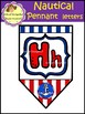 Nautical Pennant Letters - Flags (School Designhcf)