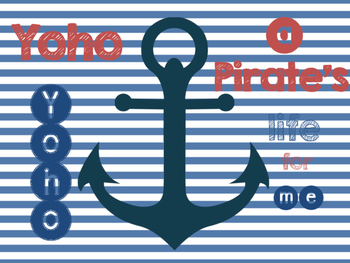 Nautical Pirate Poster