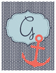 Nautical Planner Binder Cover Style 5