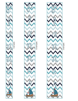 Nautical Planner Binder Cover Style 1