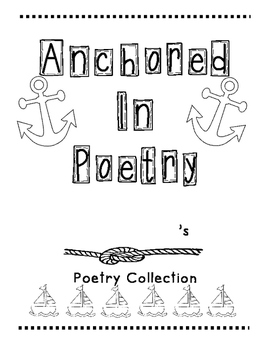 Nautical Poetry Binder Cover