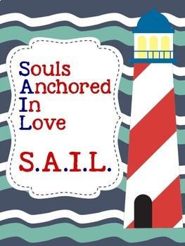 Nautical Posters S.A.I.L. theme