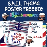 Nautical Posters S.A.I.L. theme
