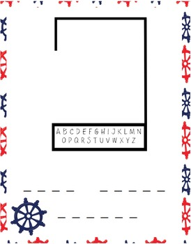 Nautical Printable Pack (Middle School)