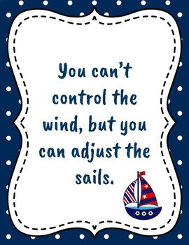 Nautical Quote Posters