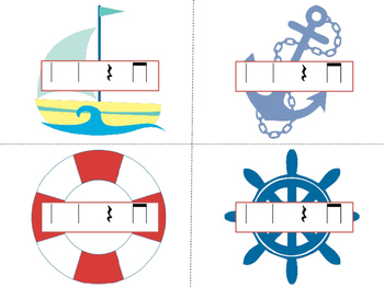 Nautical Races--a rhythm game to practice ta titi rest