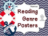 Nautical Reading Genre posters
