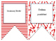 Nautical (Red,White,Blue) themed EDITABLE bulletin board banners