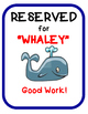 """Nautical """"Reserved for Work"""" Signs"""