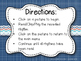Nautical Rhythms - Interactive Reading Practice Game {syncopa}