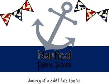 Nautical   Room Decor Pack