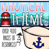 Nautical Sailing Sea Classroom Decorations and Management Mega Bundle