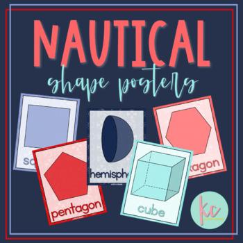 Nautical Shape Posters