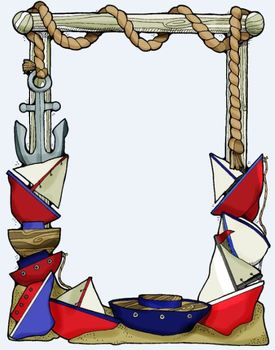 Clip Art: Anchor Nautical Sand and Ships-A-Sailing by HeatherSArtwork
