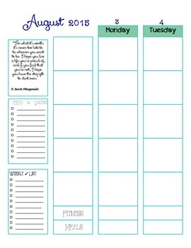Nautical Special Ed Planner 15-16