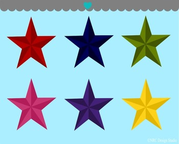 Nautical Stars Clip Art