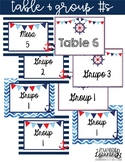 Nautical Table and Group Numbers