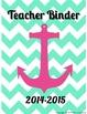 Nautical Teacher Binder Dividers