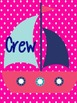 Nautical Teacher/Group Binder Covers