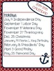 Nautical Teacher's Planning Binder
