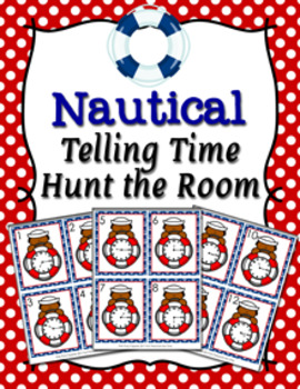 Nautical Telling Time Quarter Past Hunt the Room