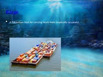 Nautical Terms/Oceanographers Vocabulary (basic)