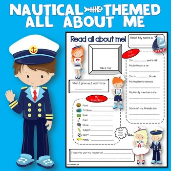 All About Me Nautical Theme