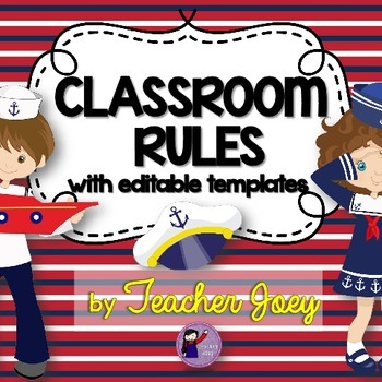 Nautical Theme Classroom Decor