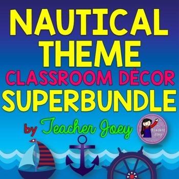 Nautical Theme Classroom Decor