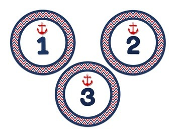 Nautical Theme Add It Up