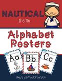 Nautical Theme - Alphabet Posters - Classroom Decor