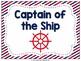 Nautical Theme Behavior Chart